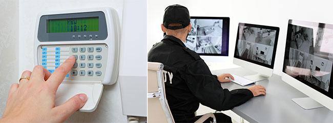Pre-internet home security system
