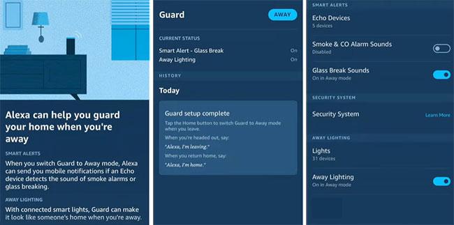 Alexa Guard app