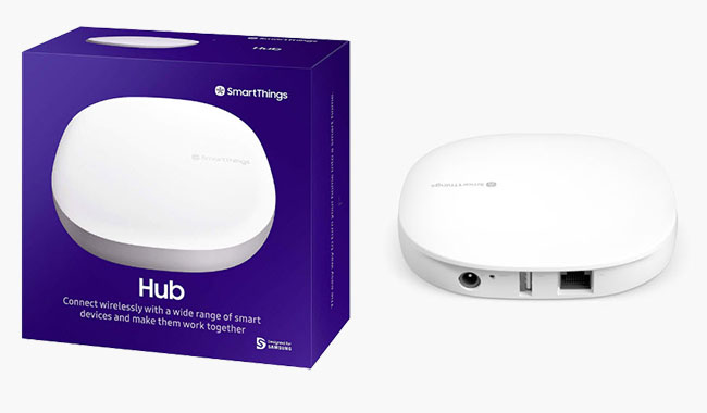 Samsung SmartThings is one of the best smart home security hubs