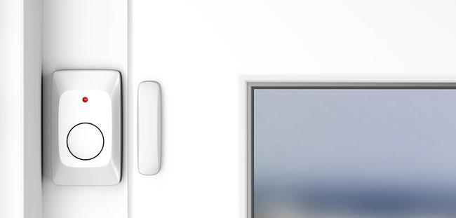 Smart window entry sensor